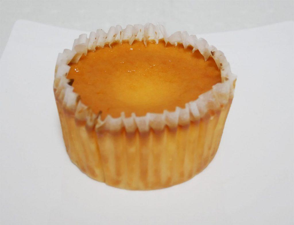バスクチーズケーキ開封後