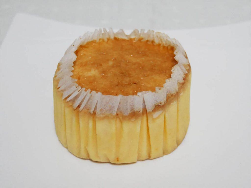 バスク風チーズケーキ バスチー開封後