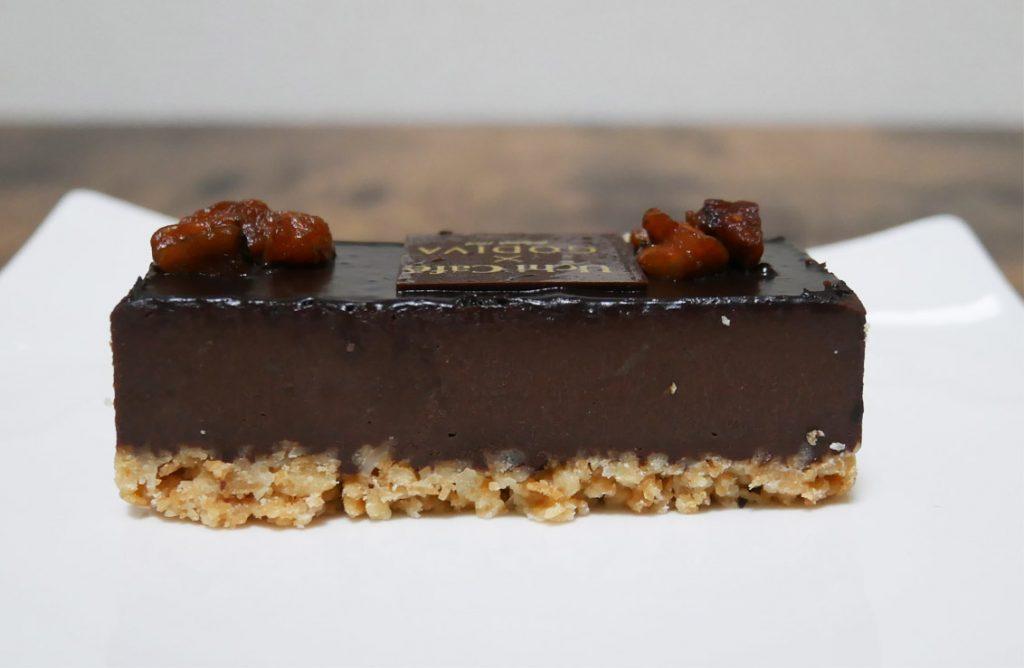 UchiCafé×GODIVA ショコラケーキ断面図2