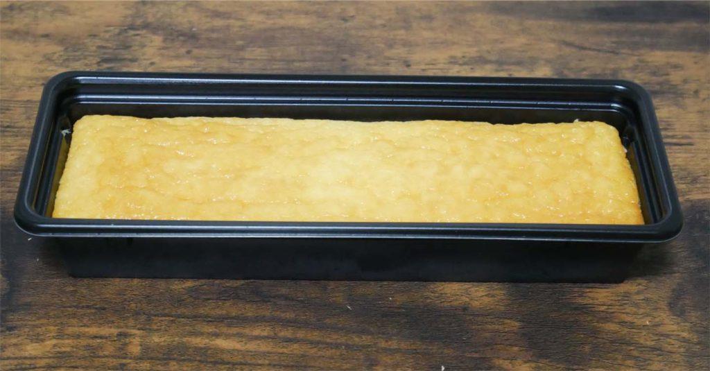 金のチーズケーキ開封後
