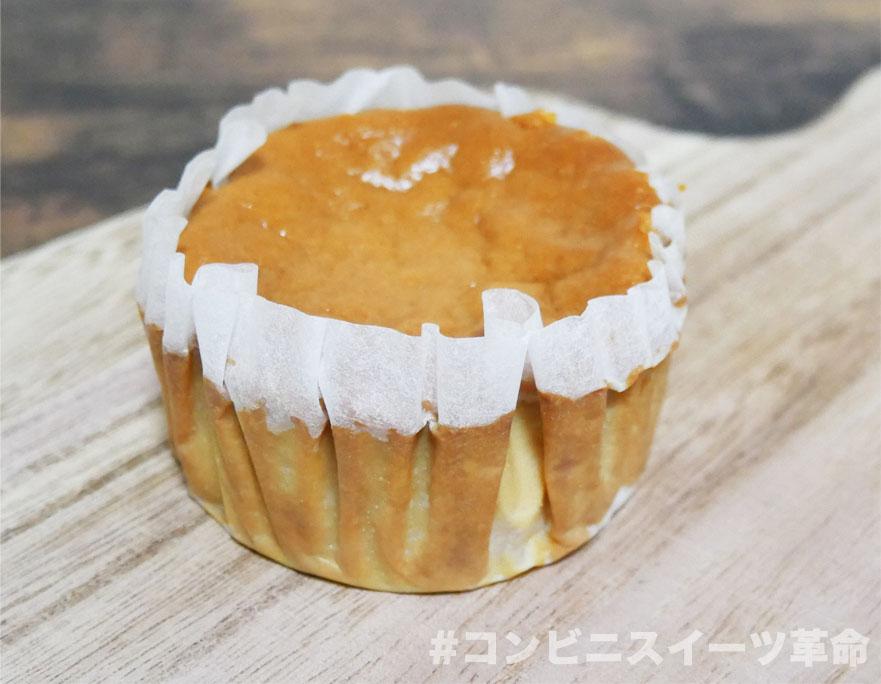 キャラメルバスクチーズケーキ開封後
