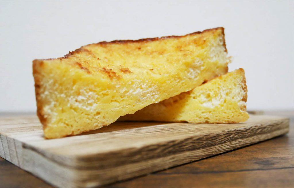 冷やして食べるフレンチトースト断面図2