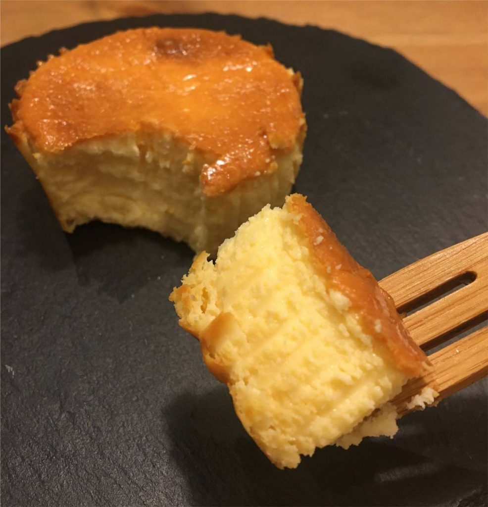 バスクチーズケーキ一口サイズ