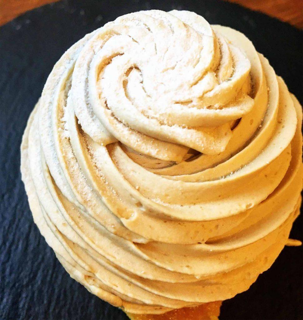 和栗のモンブランホイップクリーム