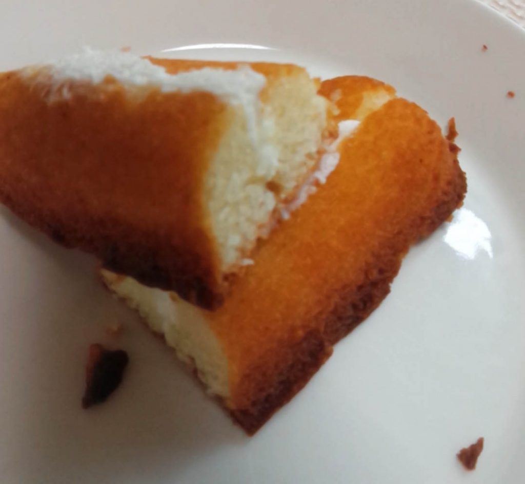 冷やして食べる発酵バターのしっとりフィナンシェ断面図2