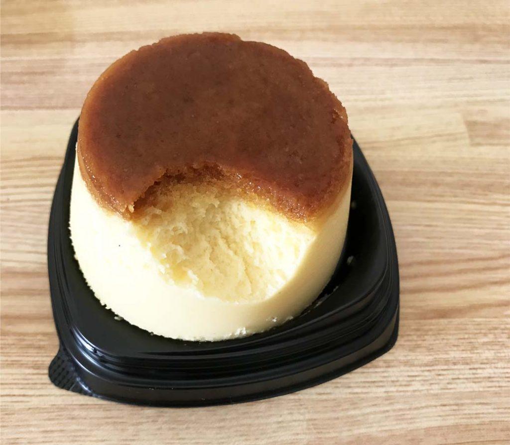 プリンな⁈チーズケーキ開封後