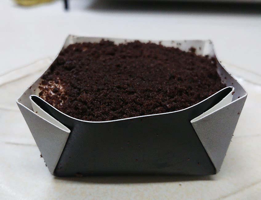 ショコラチーズケーキ開封後