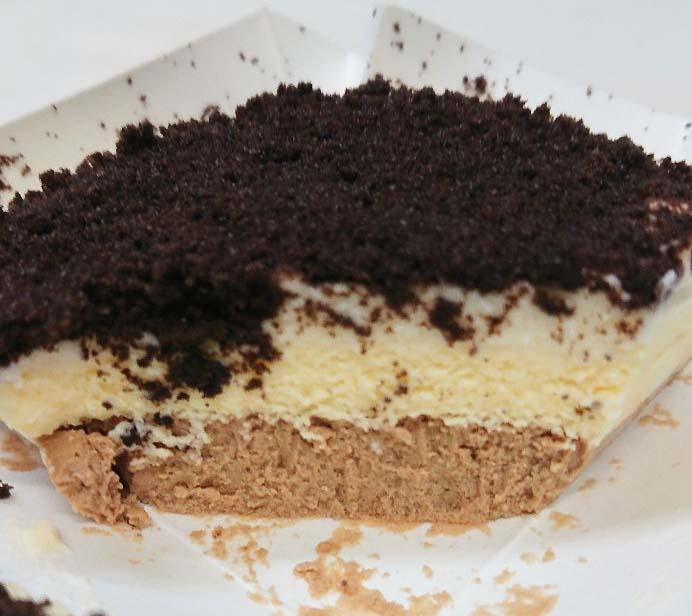 ショコラチーズケーキ断面図2