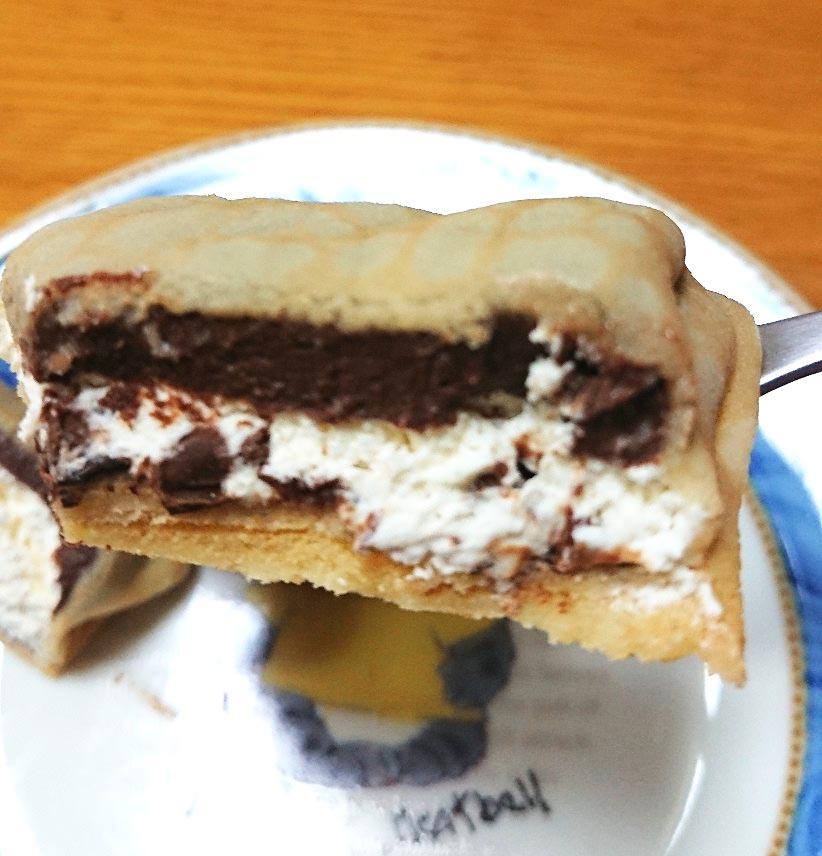 生チョコクリーム&ホイップ一口サイズ