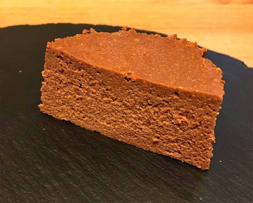 バスチー -バスク風ショコラチーズケーキー断面図