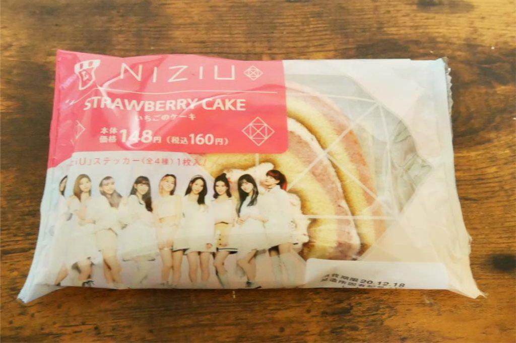 NIZIU いちごのケーキパッケージ