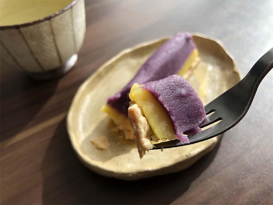 ほくとろ豊潤紫スイートポテト一口サイズ