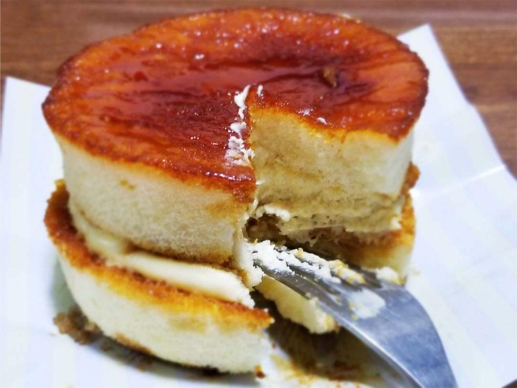 ブリュレパンケーキ断面図