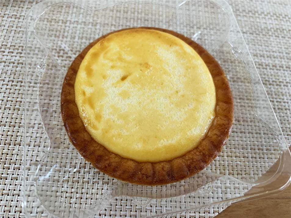 バター香る焼きチーズタルト開封後