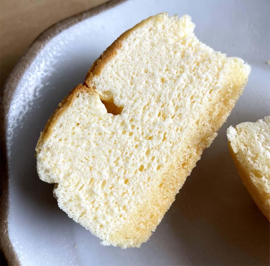 スフレチーズケーキ断面図2