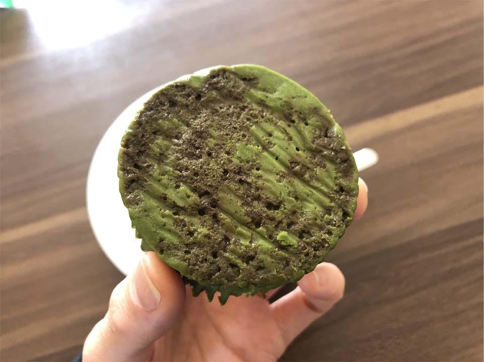 バスチー -バスク風抹茶チーズケーキ-底面