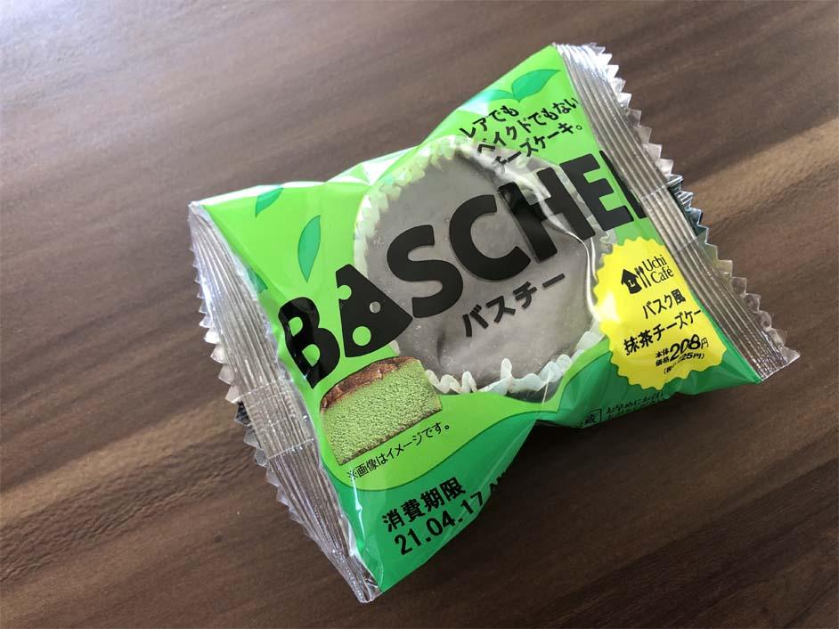 バスチー -バスク風抹茶チーズケーキ-パッケージ