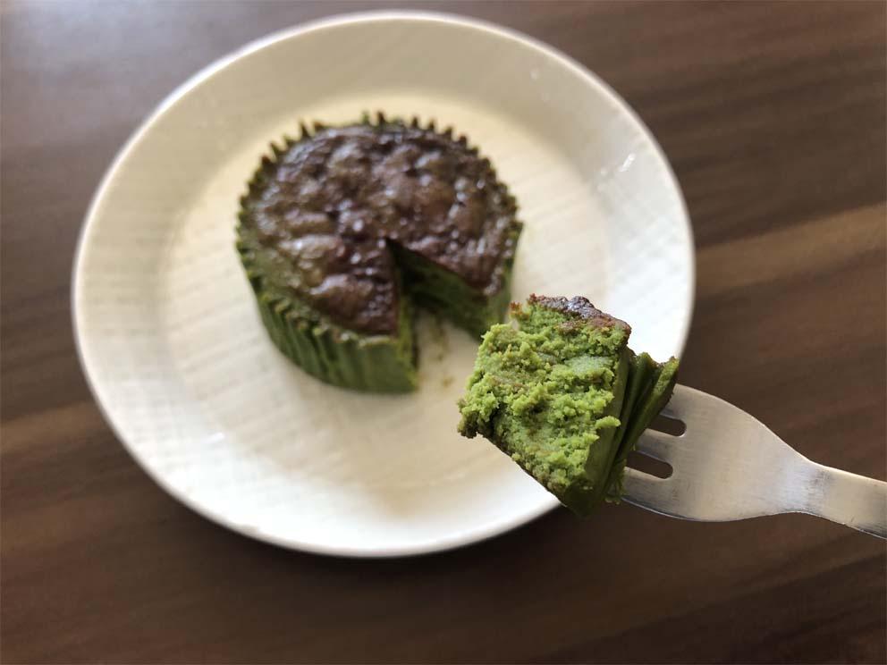 バスチー -バスク風抹茶チーズケーキ-一口サイズ