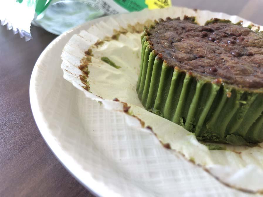 バスチー -バスク風抹茶チーズケーキ-断面図2