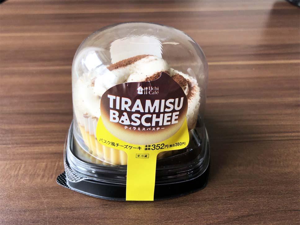 ティラミスバスチー -バスク風チーズケーキ-パッケージ