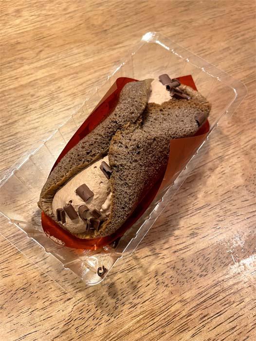 クルリン -ザクふわくるりんケーキ(チョコ)-開封後