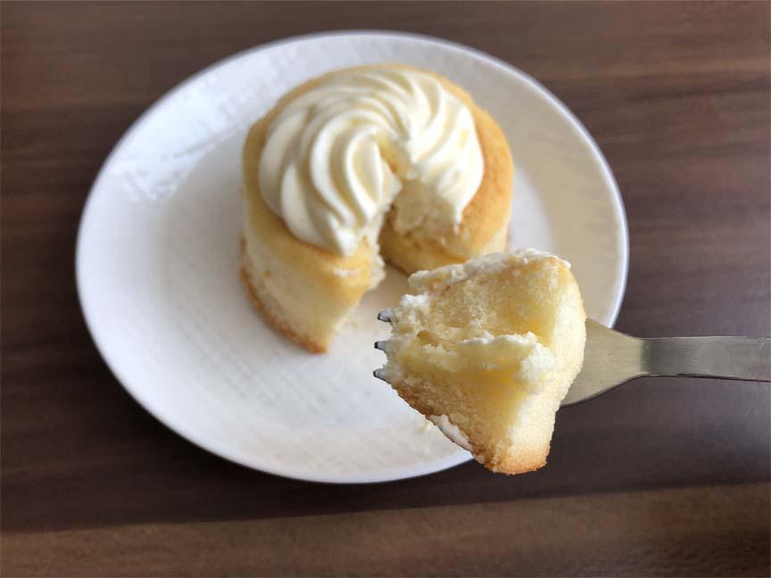ミルクバター露ふわケーキ(ミルクバターソース入り)一口サイズ