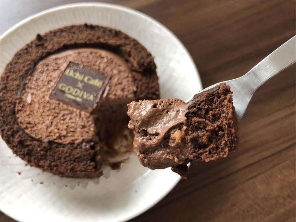 Uchi Café×GODIVA ショコラロールケーキ一口サイズ