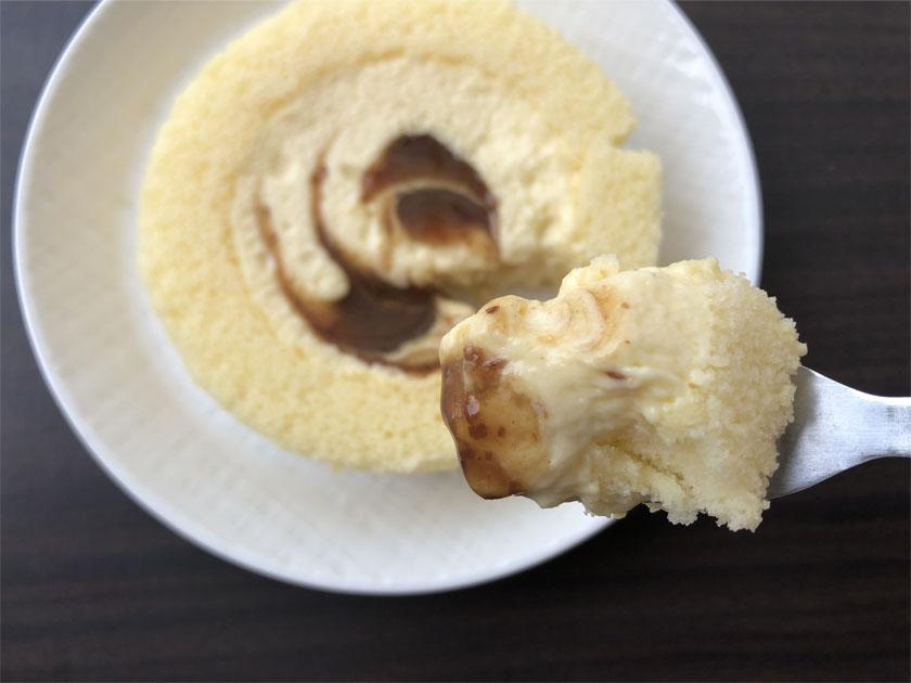 Uchi Café×八天堂 かすたーどラムレーズンロール_一口サイズ