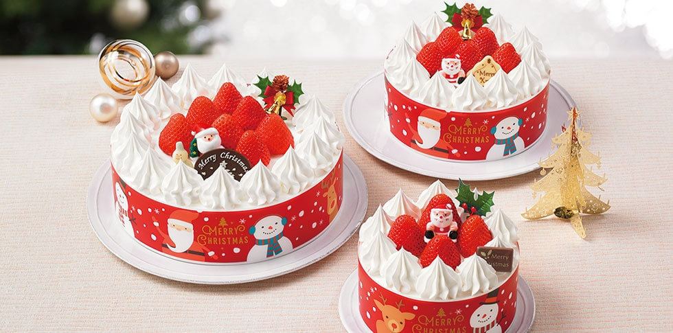 ヤマザキ クリスマス 生ケーキ 4号