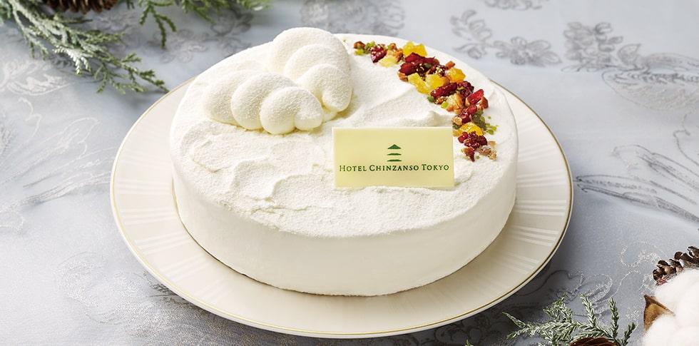 """ホテル椿山荘東京 聖夜の""""東京雲海""""チーズケーキ"""