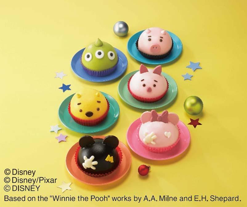 〈ディズニー〉6種のクリスマスアソートケーキ